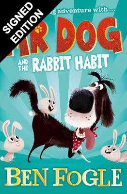 Cover of the book, Mr Dog and the Rabbit Habit (Mr Dog).