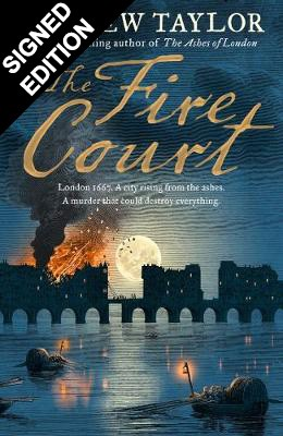 The Fire Court - An Evening with Andrew Taylor