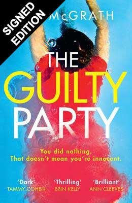 Cover of the book, The Guilty Party.