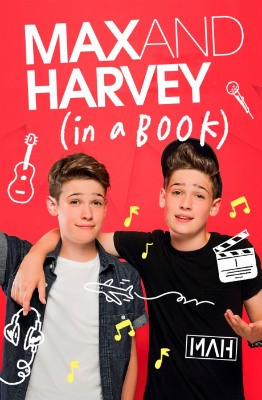 Max and Harvey: In a Book (Hardback)
