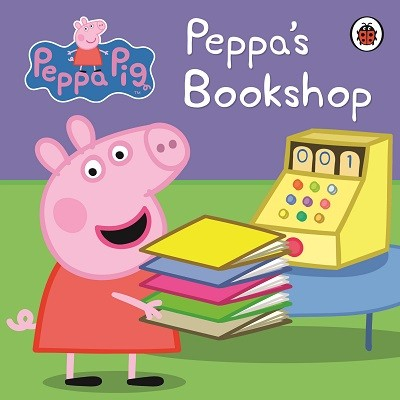 Peppa's Bookshop - Exclusive (Board book)