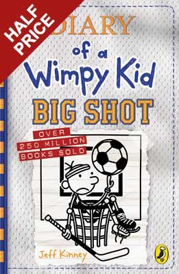 Diary of a Wimpy Kid: Big Shot (Book 16) - Diary of a Wimpy Kid (Hardback)