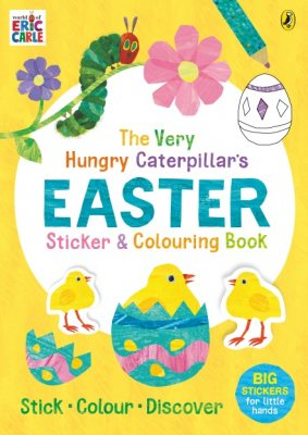 The Very Hungry Caterpillar's Easter Sticker and Colouring Book (Paperback)