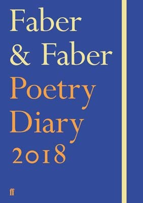 Faber & Faber Poetry Diary 2018: Royal Blue (Hardback)