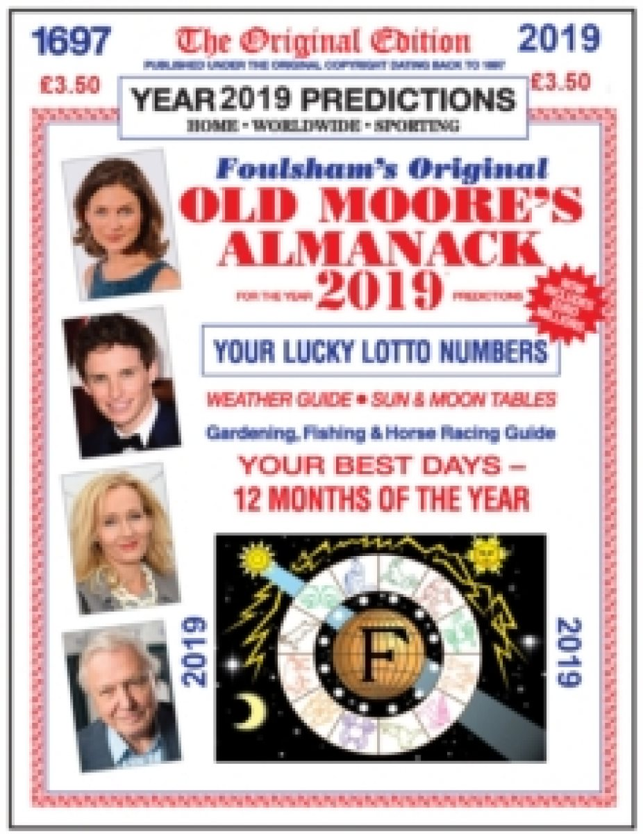 Old Moore's Almanac 2019 (Paperback)