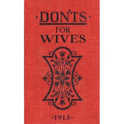 Don'ts for Wives (Hardback)