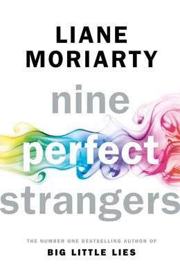 Cover of the book, Nine Perfect Strangers.