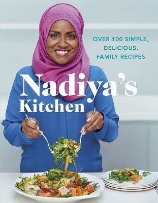 Cover of the book, Nadiya's Kitchen.