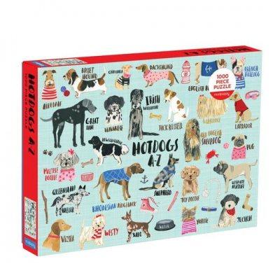 Hot Dogs A-Z 1000 Piece Puzzle (Jigsaw)