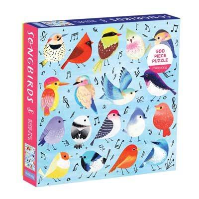 Songbirds 500 Piece Family Puzzle (Jigsaw)
