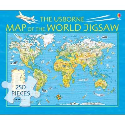 Map of the World Jigsaw - Boxed Jigsaws (Jigsaw)