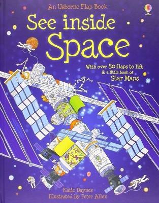 See Inside Space - See Inside (Board book)