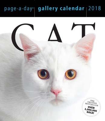 Cat Page-A-Day Gallery Calendar 2018 (Calendar)