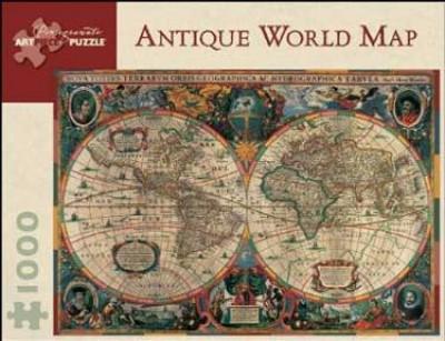 antique world map 1 000-piece jigsaw puzzle