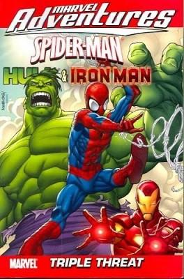 Marvel Adventures Spider-man, Hulk & Iron Man: Triple Threat: Triple Threat Digest v. 1 - Digest (Paperback)