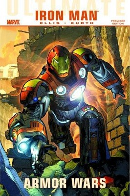 Ultimate Comics Iron Man: Armor Wars Premiere (Hardback)