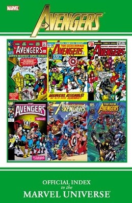 Avengers Official Index To The Marvel Universe (Paperback)