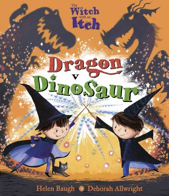 The Witch with an Itch: Dragon v Dinosaur (Paperback)