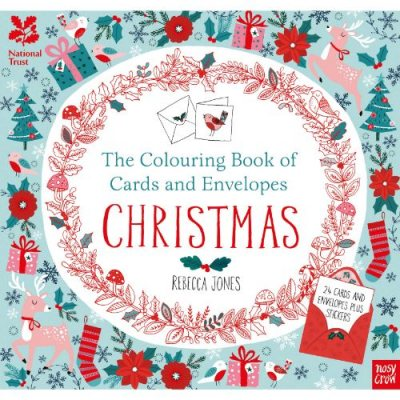 National Trust Colouring Cards And Envelopes: Christmas - Colouring Books of Cards and Envelopes