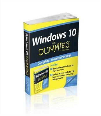 Windows 10 For Dummies Book + Online Videos Bundle (Paperback)