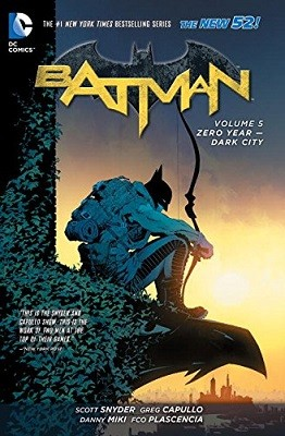 Batman Vol. 5 Zero Year - Dark City (The New 52) (Paperback)