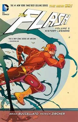 The Flash Vol. 5 History Lessons (The New 52) (Paperback)