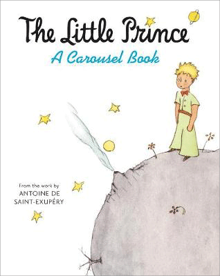 Cover of the book, The Little Prince.