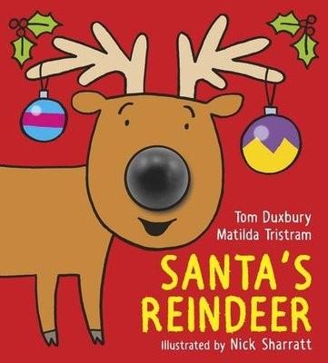 Santa's Reindeer (Hardback)