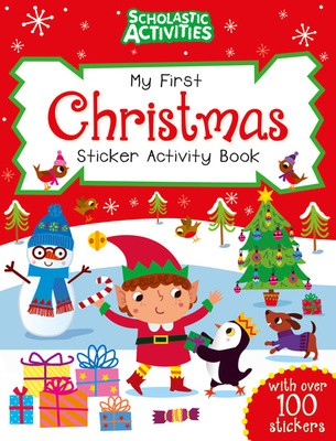 My First Christmas Sticker Activity Book - Scholastic Activities (Paperback)