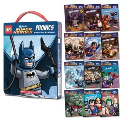 LEGO DC Super Heroes: Phonics Box Set (Hardback)