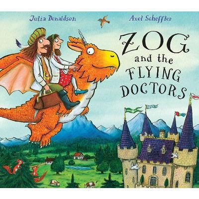 Zog and the Flying Doctors (Hardback)