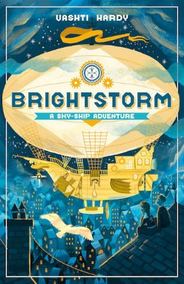 Cover of the book, Brightstorm (Sky-Ship Adventure, #1).