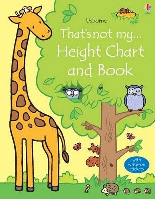 That's Not My Height Chart and Book - That's Not My... (Board book)