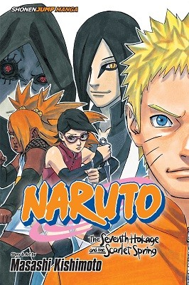 Naruto: The Seventh Hokage and the Scarlet Spring - Naruto: The Seventh Hokage and the Scarlet Spring (Paperback)