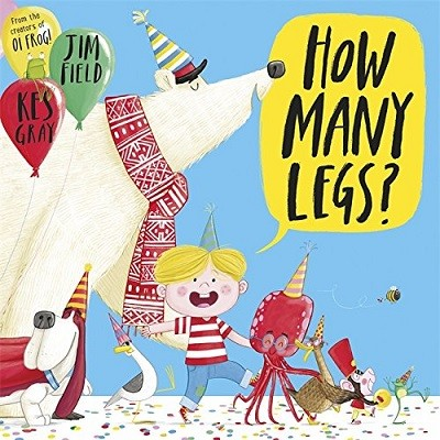 How Many Legs? (Paperback)