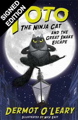 Toto the Ninja Cat and the Great Snake Escape: Signed Edition - Toto (Paperback)