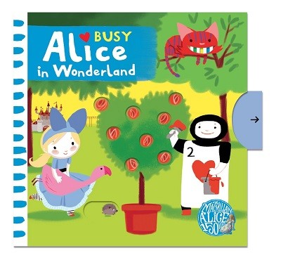Busy Alice In Wonderland - Busy Books (Board book)