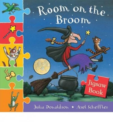 Room on the Broom Jigsaw Book by Julia Donaldson, Axel Scheffler ...