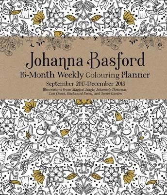 Johanna Basford Colouring Diary 2017 2018