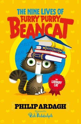The Library Cat - The Nine Lives of Furry Purry Beancat 3 (Paperback)