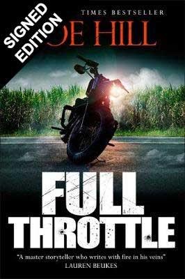 Full Throttle: Signed Edition (Hardback)