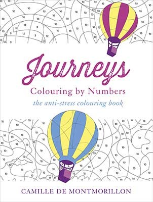 Journeys Colouring By Numbers Paperback