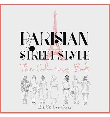Parisian Street Style: The Adult Colouring Book (Paperback)