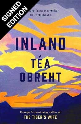 Cover of the book, Inland.