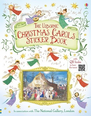 Christmas Carols Sticker Book (Paperback)