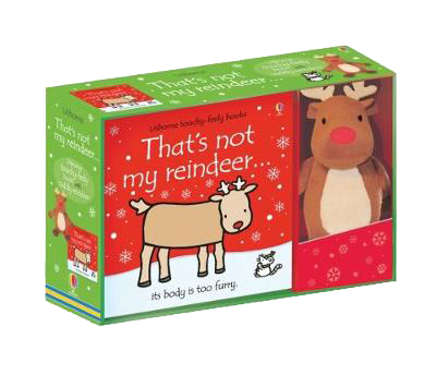 That's not my Reindeer Book and Toy - That's not my (Board book)
