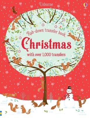 Christmas - Rub-Down Transfer Books (Hardback)