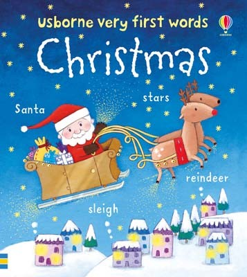 Christmas - Very First Words (Board book)