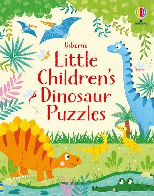 Little Children's Dinosaur Puzzles - Little Children's Puzzles (Paperback)