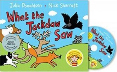 What the Jackdaw Saw: Book and CD Pack